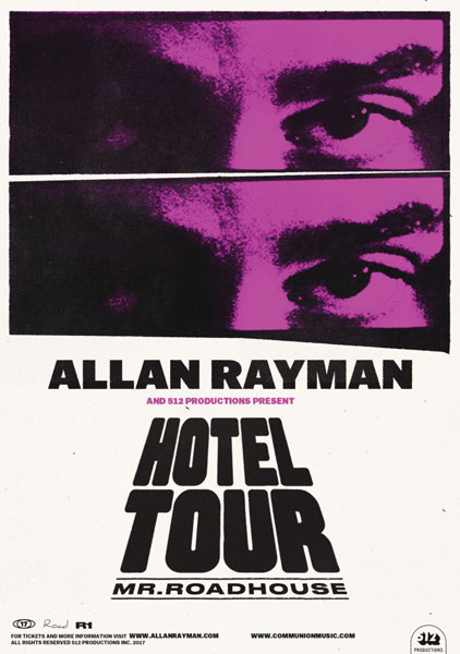 """Allan Rayman 'Hotel Tour: Mr Roadhouse with """"TRADICION LATINA"""" at First  Avenue - 7th St Entry, Minneapolis"""
